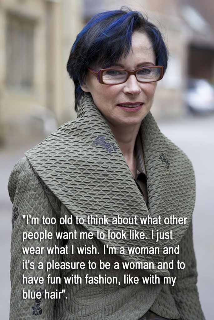 Advanced Style - Isabel (with quote) - I should ch...