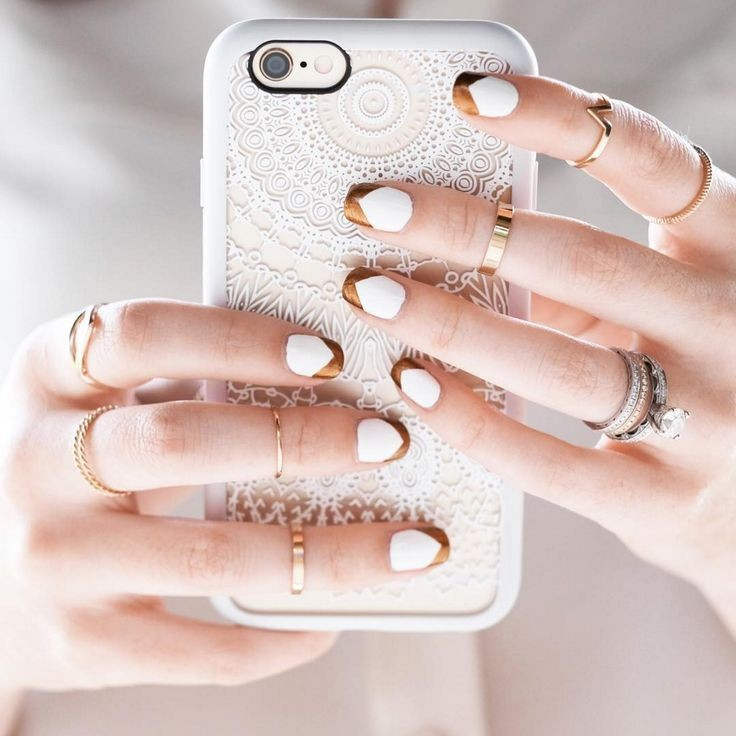 Make your nail art as sophisticated as you are wit...