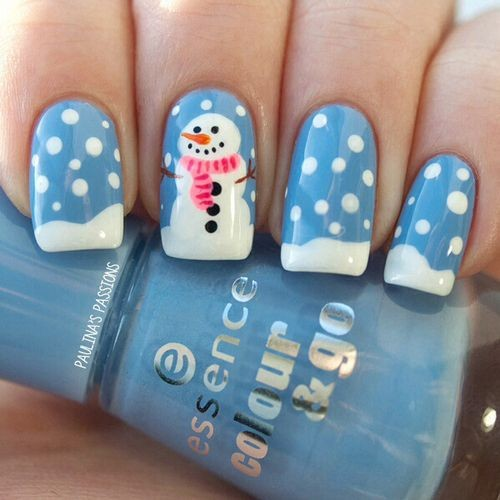 20 Unique Nail Art Ideas and Designs for New Year&...