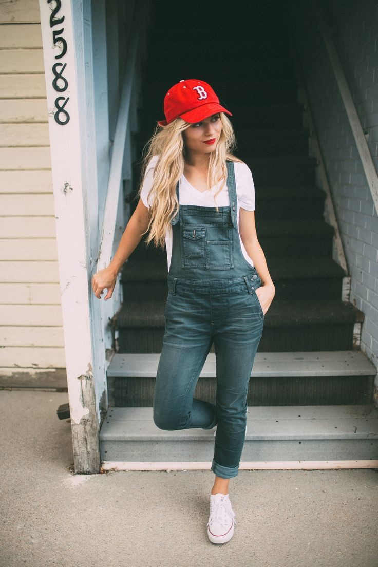 Overalls & Red Sox