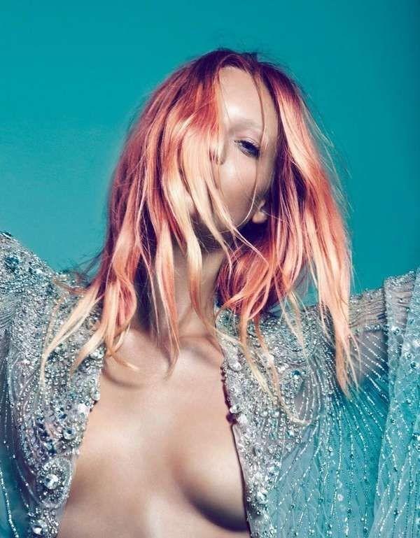 #Sun-Drenched Retro Photoshoots - The Sofya Titova...