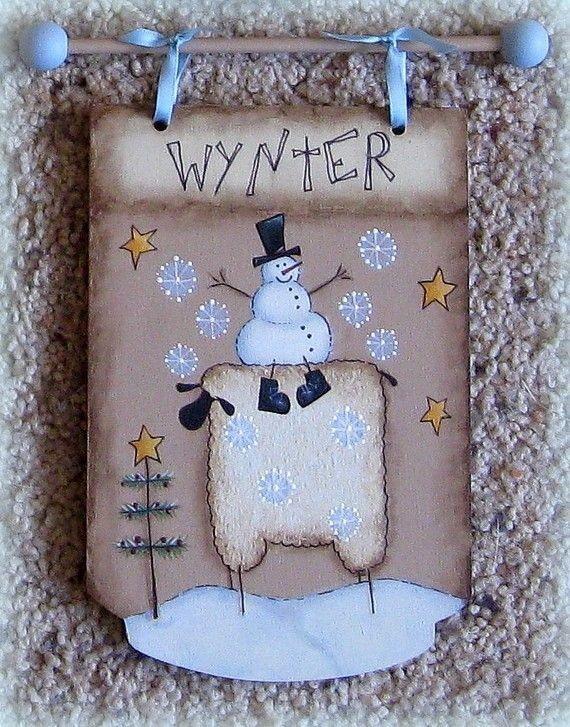 E PATTERN  4 Seasons Sheep  Designed by Terrye Fre...
