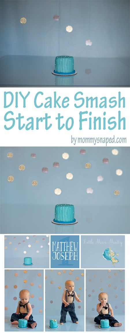 Step by step instructions on how to do a DIY cake...
