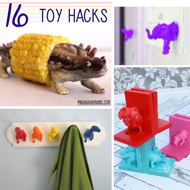 over a dozen ways you can repurpose toys that your...