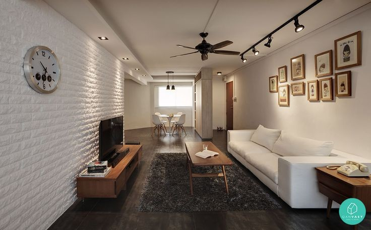 The Scandinavian home decor theme is a popular the...