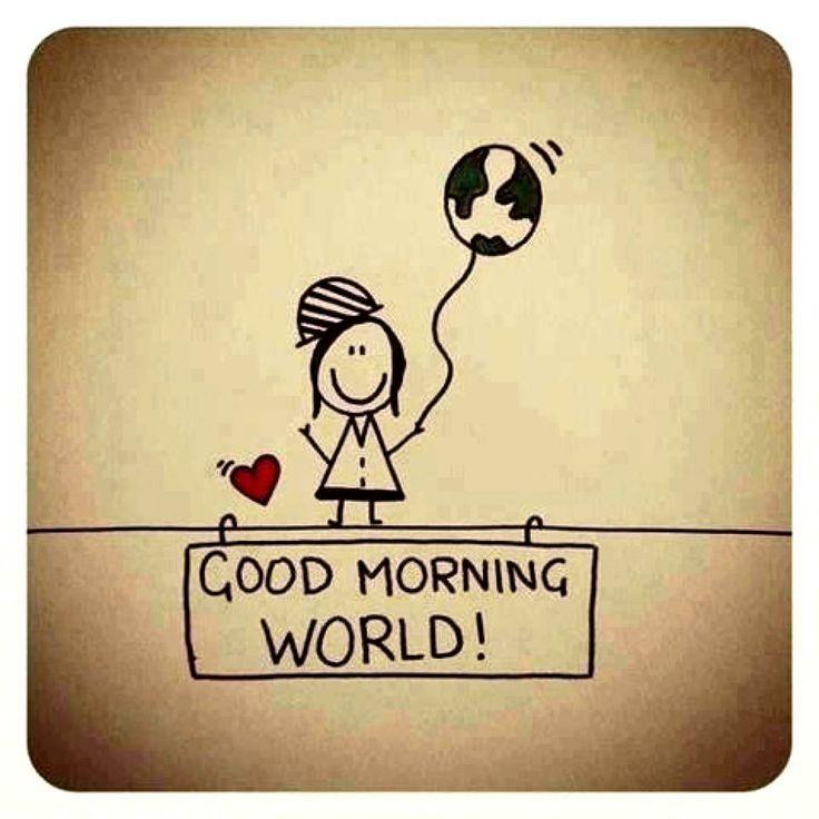 Bom dia mundo... Bom Domingo!