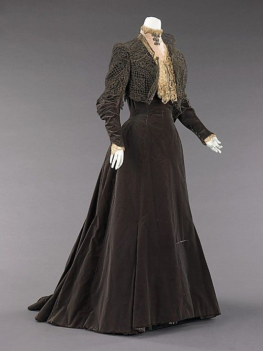 Dress, Afternoon  House of Worth (French, 18...