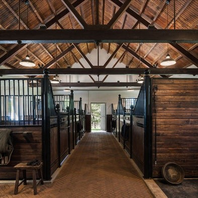 Stable Wood Floor Design. This might be my favorit...