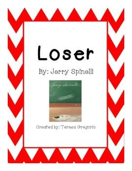 Activities to go with the novel: Loser by Jerry Sp...