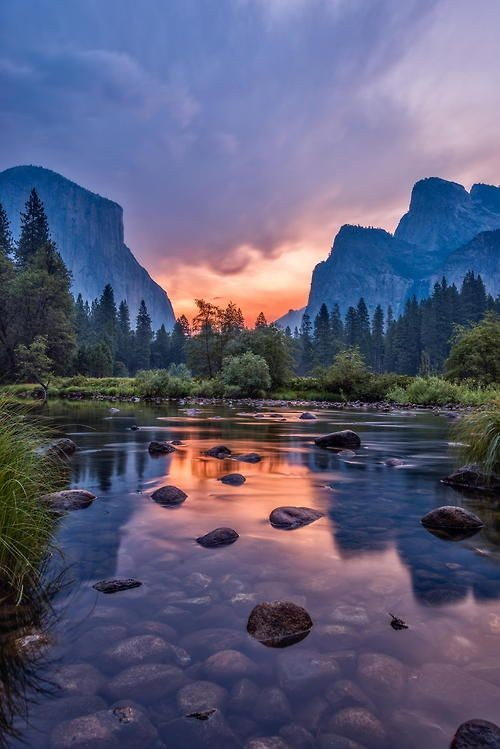 Dawn at Yosemite National Park ~ California, USA.....