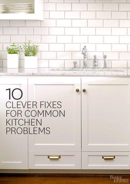 Via Better Homes and Gardens - Problem: Stinky Dra...
