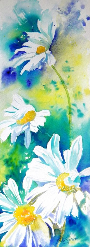 blog discussing artists loosely painted watercolor...