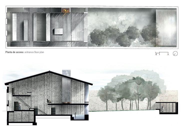 RCR Arquitectes, casa Entremuros en Olot (Gerona)...