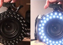 Make a ring light for less than $20. Great for ach...
