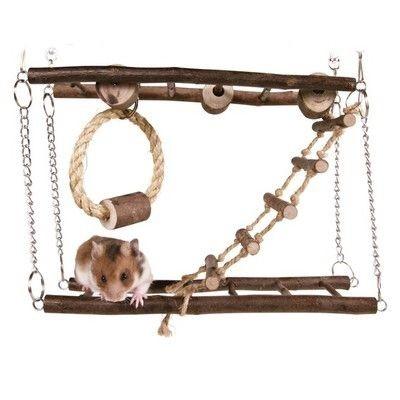 Natural Living Suspension Bridge for Mouse Mice Ha...