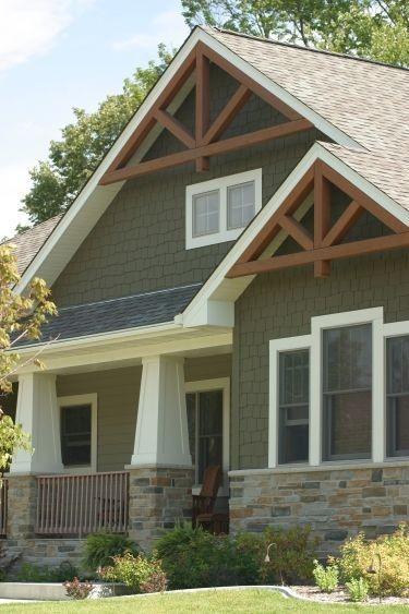 Home Exteriors from Custom home builder , Maple Gr...