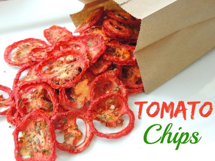 Tomato Chips! AMAZING! Potato chips never tasted a...