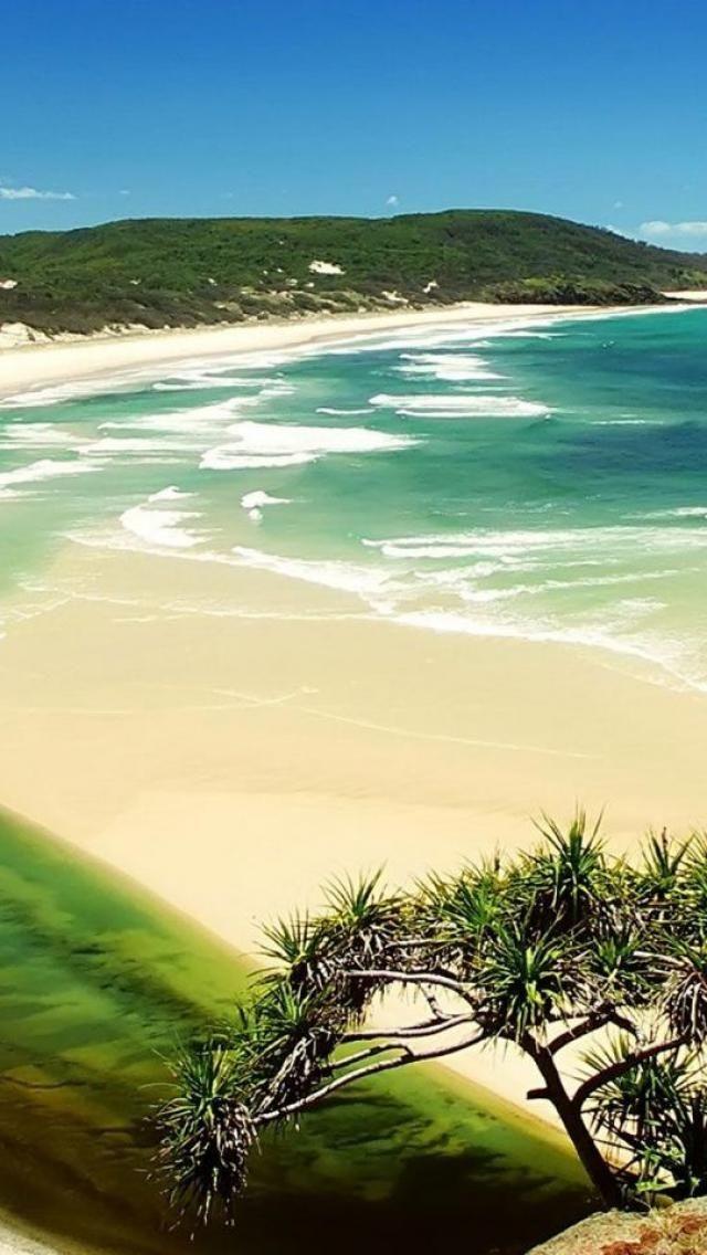 Fraser Island, Queensland, Australia. One of the m...