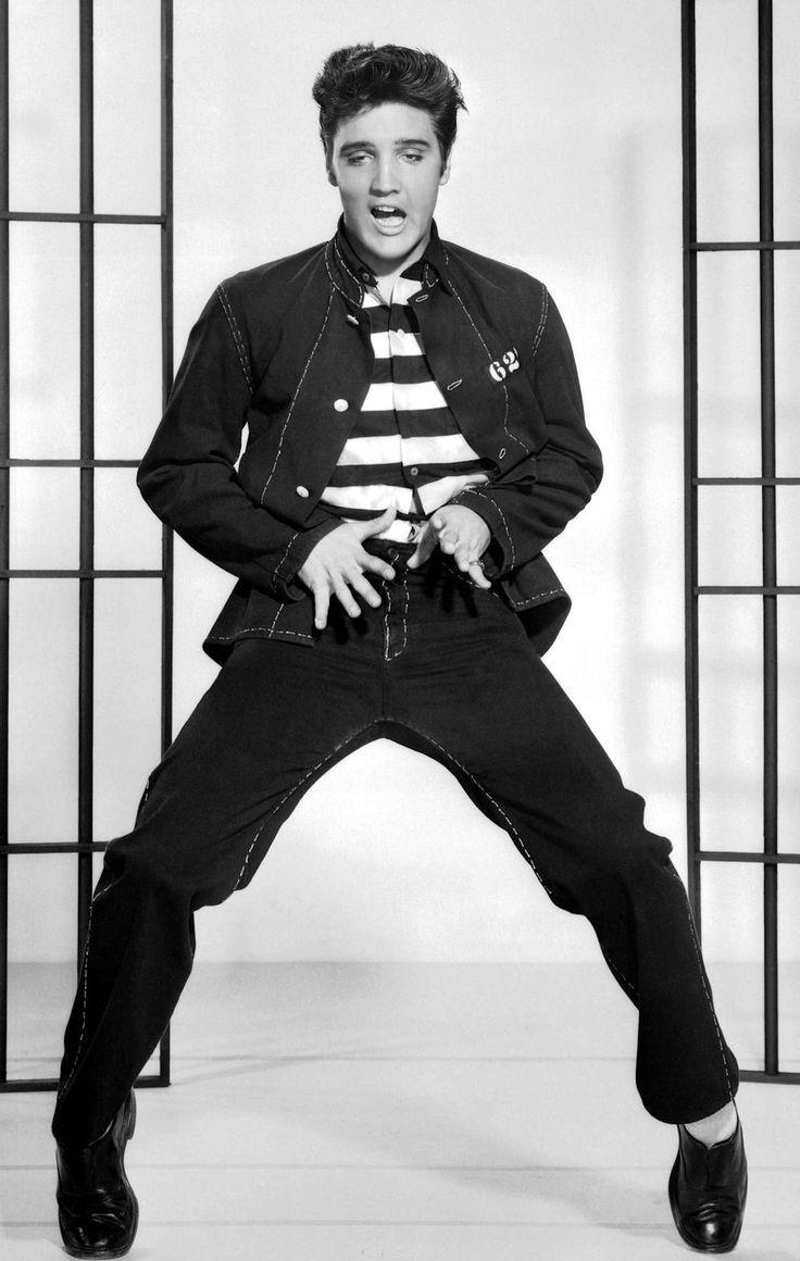 Elvis  JAIL HOUSE ROCK! Elvis could really dance t...