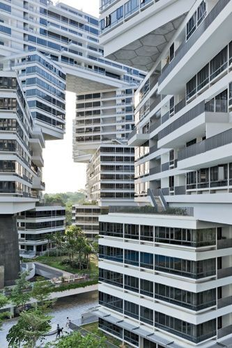 The Interlace, a residential complex designed by t...