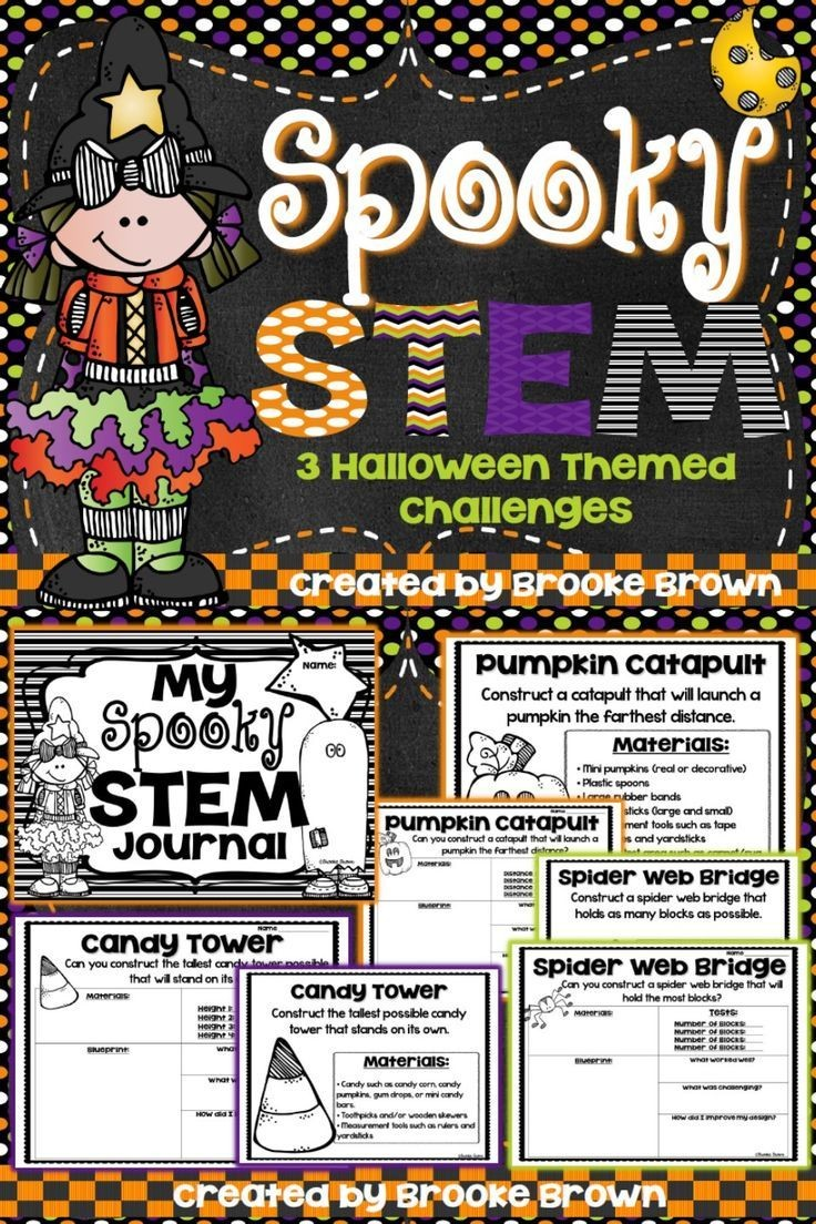 Three Halloween Stem Challenges For Your Little Engineers Posted By Claudine On Education Sha
