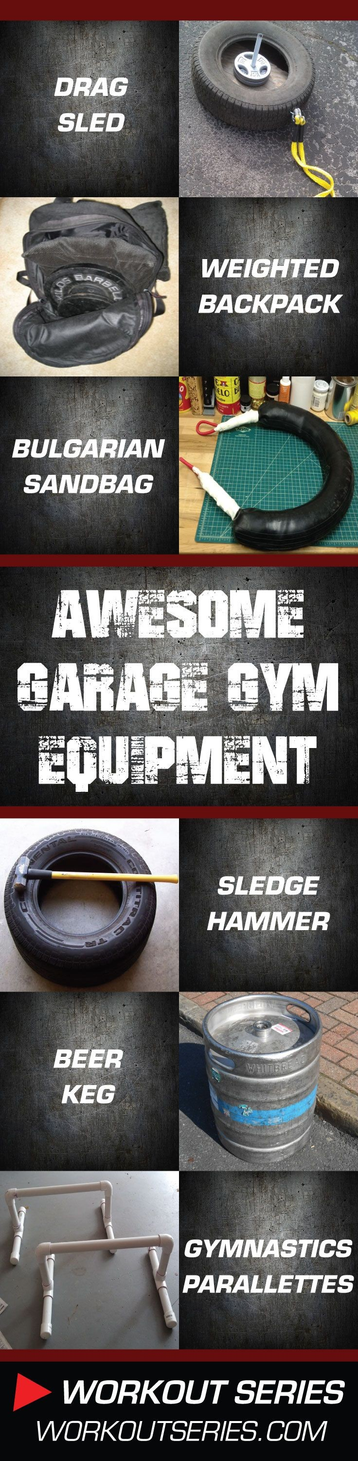 DIY: Homemade Garage Gym Workout Equipment –...