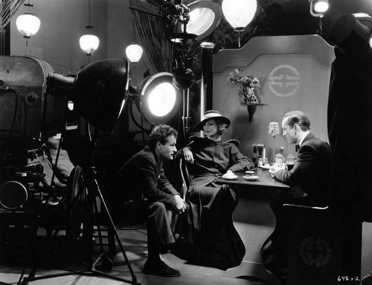 William A. Wellman directs Loretta Young and Franc...