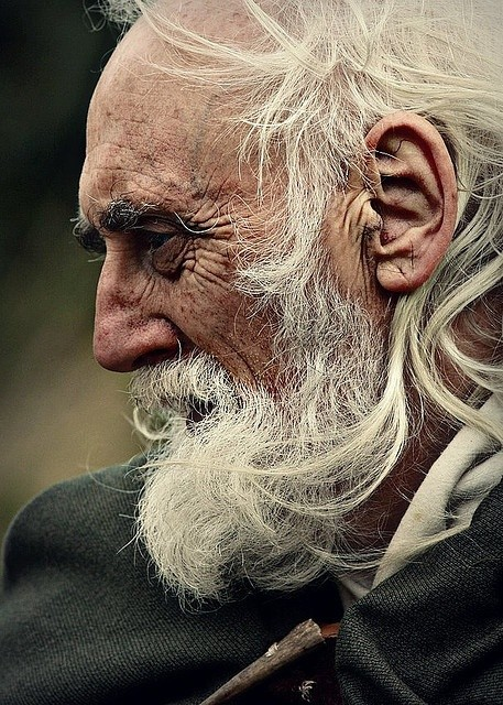 A man's age is something impressive, it sums up hi...