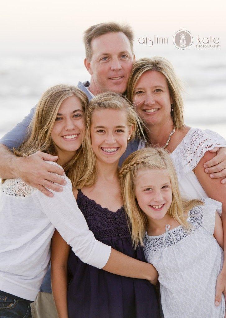 Family portraits, beach portraits, santa rosa beac...
