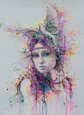 Saatchi Online Artist Lykke Steenbach Josephsen; P...