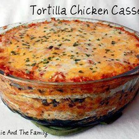 Chicken- Tortilla Chicken Casserole Replace multi...