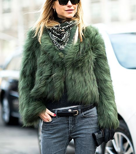 Fall/ winter outfit ideas. Jeans. Scarf. NYWF: All...
