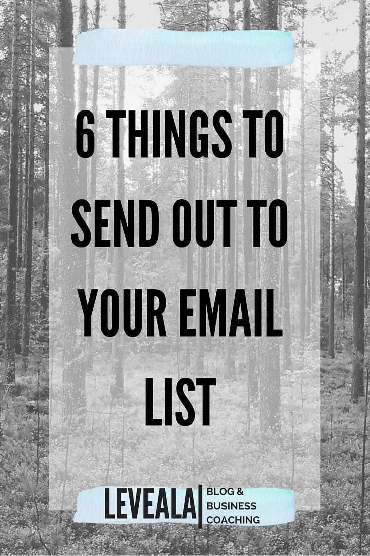 We all know that you SHOULD send out newsletters,...