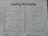 Fun spelling practice... might need a bigger grid...