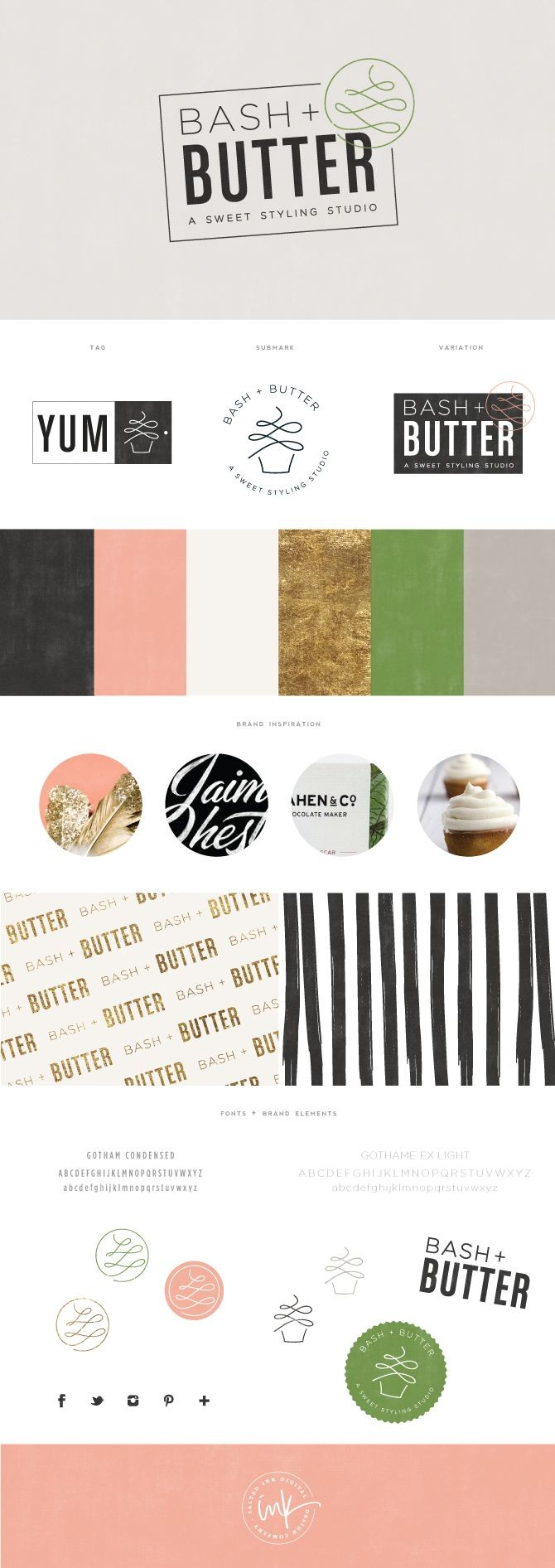 Brand Launch: Bash + Butter - Salted Ink Design Co...