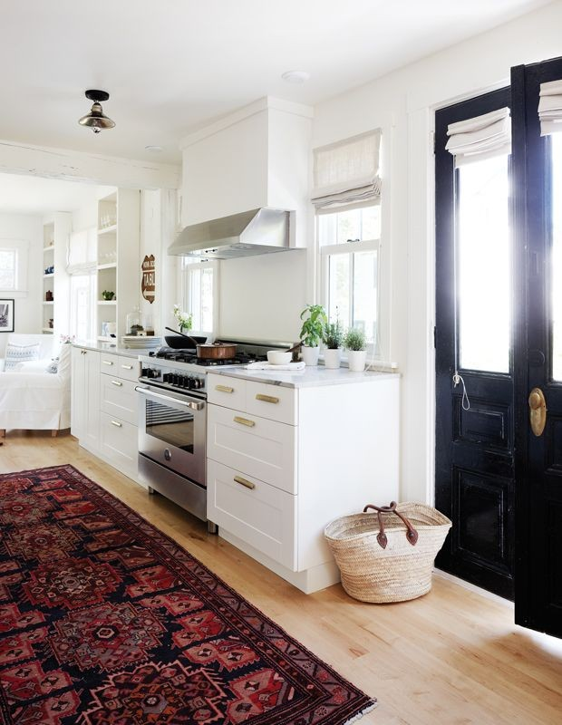 White kitchens will forever be in style. Check out...