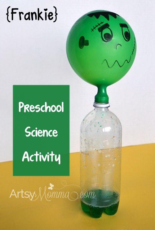 Halloween Science Activity for Preschoolers - Self...