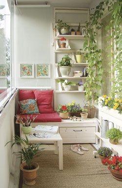 Prelepi mali balkoni i terase « Najbolja Mama...