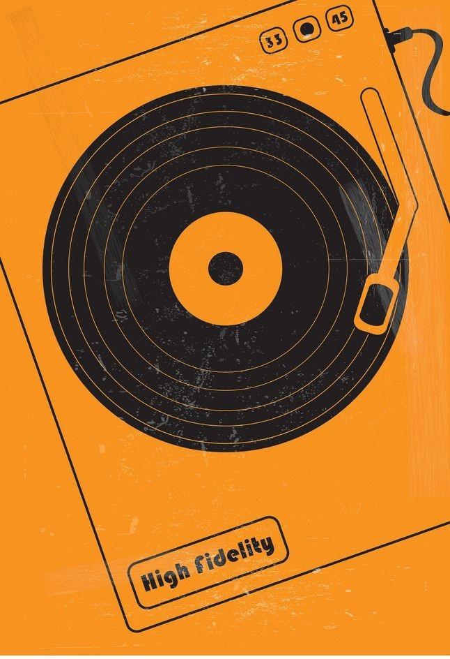 High Fidelity (2000) ~ Minimal Movie Poster by Mas...