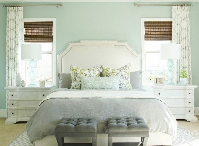 Seafoam Green Bedroom Paint Color