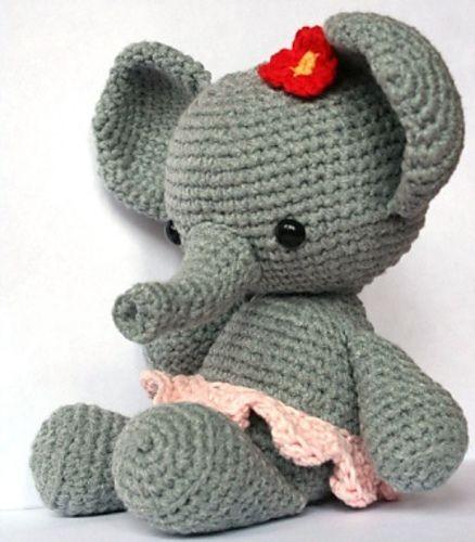 Ravelry: Bubba the elephant pattern by David Román | 500x438
