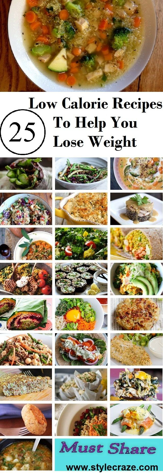 Low Calorie Recipes For Weight Loss: Low calorie d...