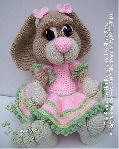 Peeps the Little Girl Bunny-  Ravelry: This patter...