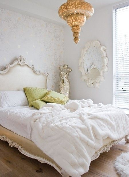 Bedroom Bliss: walls and furnishings in neutrals....