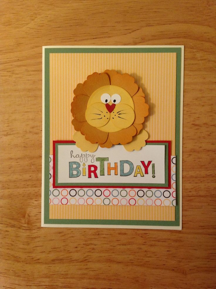 Stampin Up Birthday Cards For Kids ~ Stampin up cards birthday children google search