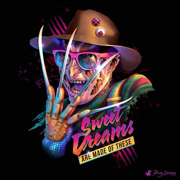 80s Villain Vinyl Covers by Rocky Davies 5