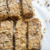 Homemade granola bars have tons of protein and are...