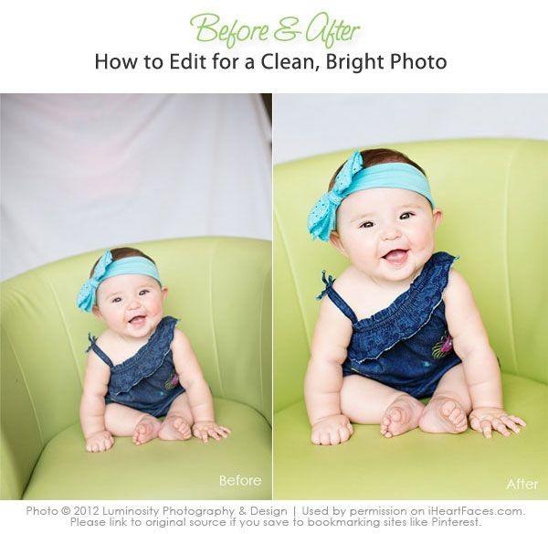 Как сделать фотографию яркую