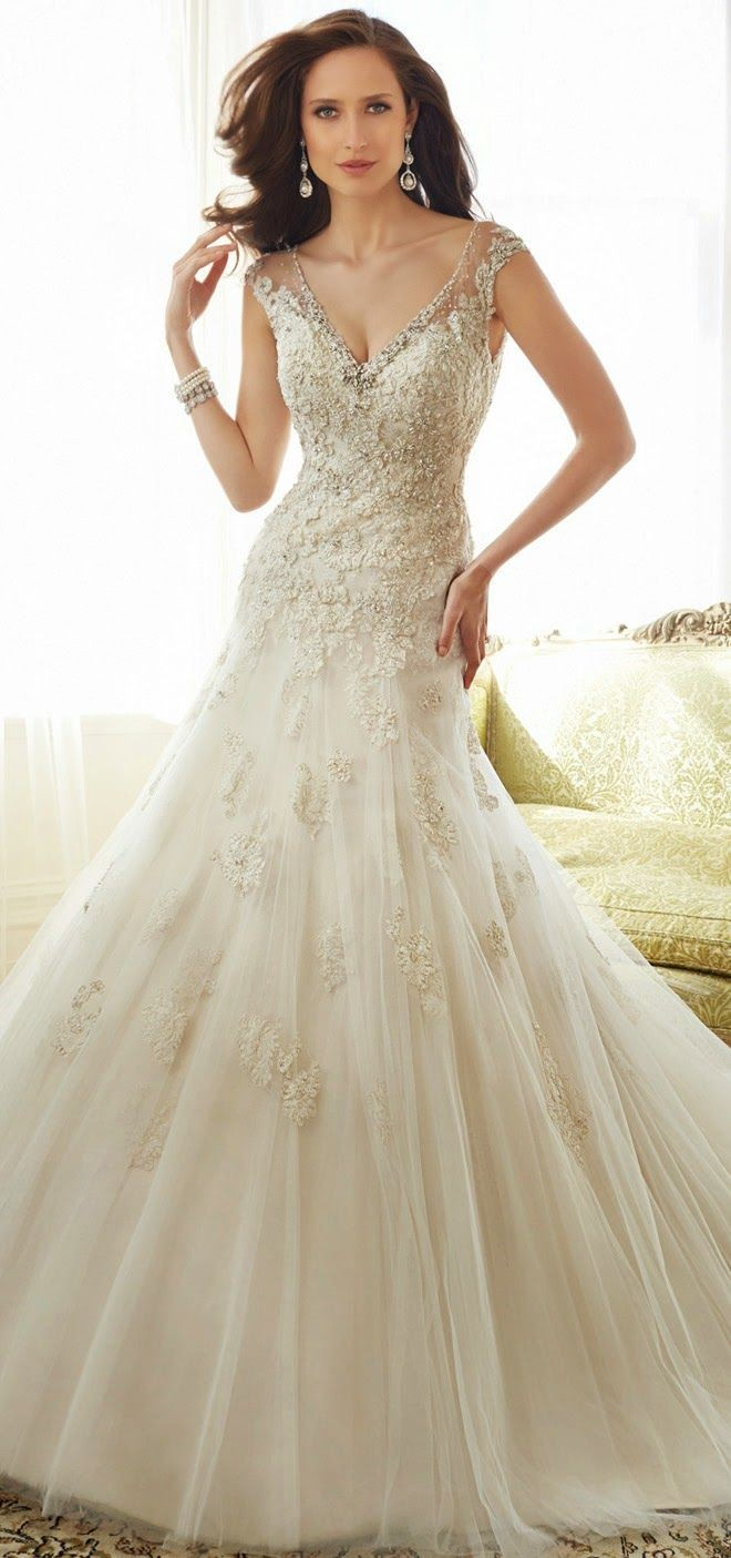 Sophia Tolli 2015 Bridal Collection | bellethemaga...