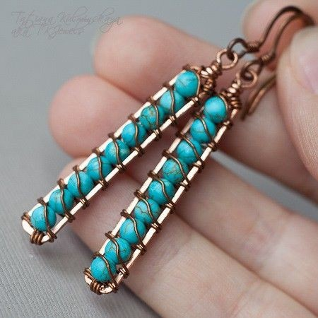 Turquoise Drops.  I'm thinking this would be great...